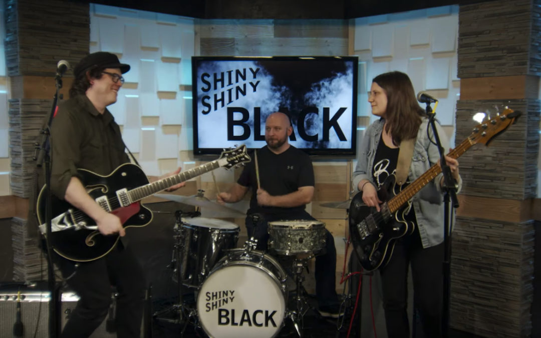 Globe Music Presents Shiny Shiny Black
