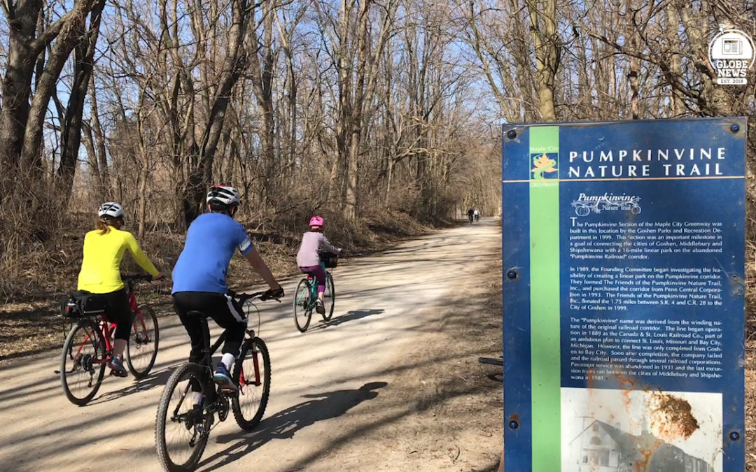 Spring tune ups and new trail additions for the Pumpkinvine