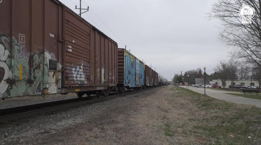 Stopped Trains in Goshen